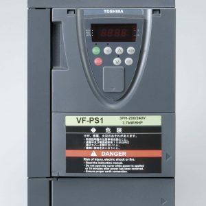 Convertidores de frecuencia Toshiba modelo VF-PS1 Frontal